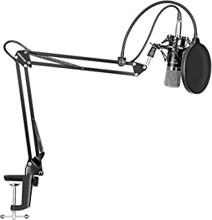 Neewer NW-700 Professional Studio Broadcasting Recording Condenser Microphone & NW-35 Adjustable Recording Microphone Susp...