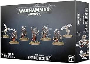 Warhammer Games Workshop 40K Adepta Sororitas Retributor Squad 52-25