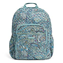 cheap Vera Bradley Signature Campus Cotton Daisy Dot Paisley Ladies Backpack One Size