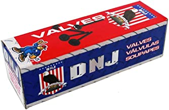 DNJ EV323 Exhaust Valve for 2007-2015 / Buick, Chevrolet, Pontiac, Saab, Saturn / 9-5, Cobalt, HHR, Regal, Sky, Solstice, Verano / 2.0L / DOHC / L4 / 16V / 122cid / A20NFT, LHU/VIN M, VIN V, VIN X
