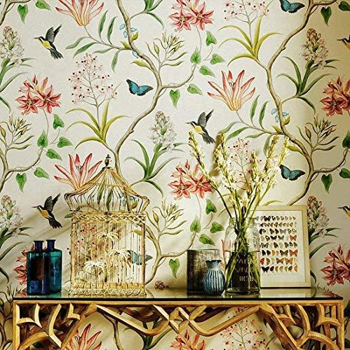 Papel Pintado Pared Flores Grandes Marca Blooming Wall
