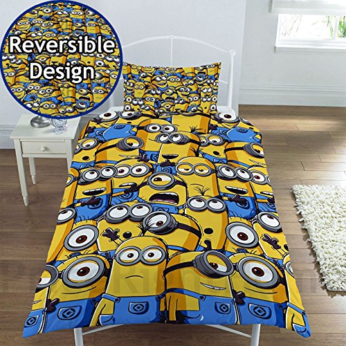 Despicable Me Minion Army Single Duvet Cover Bed Set