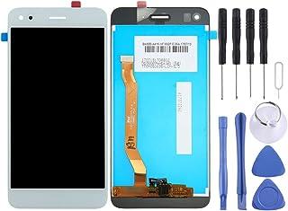 Inredning av en telefon För Huawei Njut av 7 / Y6 Pro 2017 / P9 Lite Mini LCD-skärm och digitizer Fullständigt monteringst...