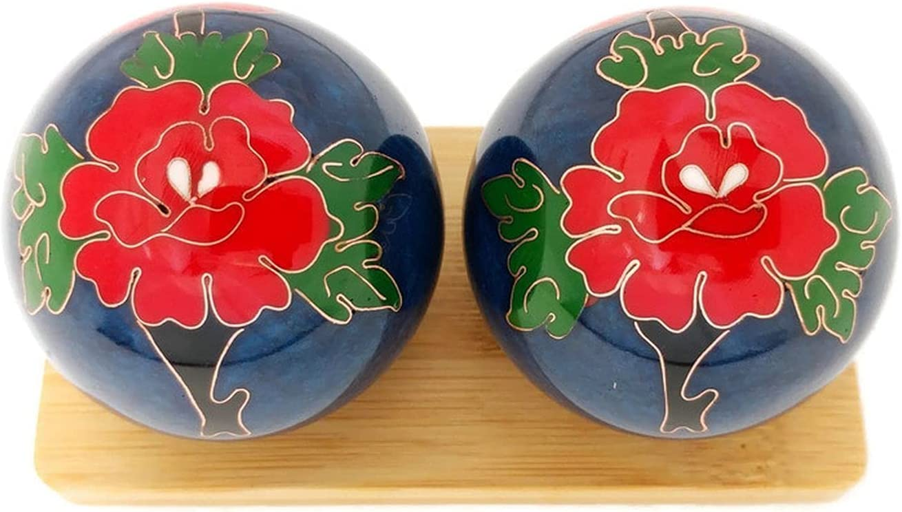 Top Chi Peony Baoding Balls Super popular specialty store with 2 NEW before selling Inch Stand Bamboo Large