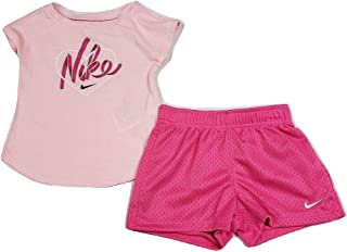 Girls Two Piece T-Shirt and Shorts Set
