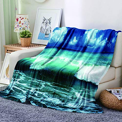 3D Digital Printing Pattern Blanket Thick Flannel Blanket Suitable For Sofa Blankets In Hotels, Bedrooms And Living Rooms Easy To Fold Blanket