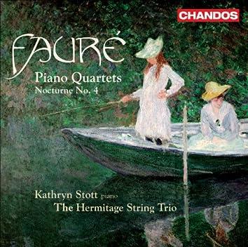 Fauré, G.: Piano Quartets Nos. 1 and 2 / Nocturne No. 4