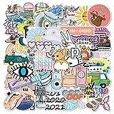 Cute Stickers Decals 50 Pack for Laptop Water Bottles Skateboard Pad Phone Car Teens Girls Kawaii Sticker