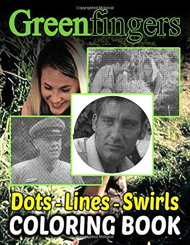 Greenfingers Dots Lines Swirls Coloring Book: Greenfingers Creature Adult Activity Diagonal-Dots-Swirls Books For Women And Men (Get Well Gifts)