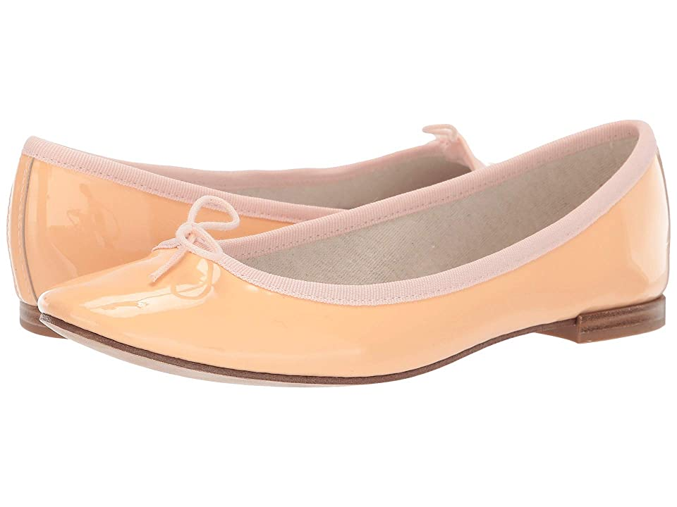 Repetto Cendrillon (Orange Patent) Women