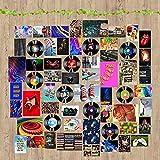 QIAMNI Wall Collage Kit Fotografico da Parete 61 Poster Immagini di Viti Artificiali Decorazione per Camera da Letto Ldeale per Ragazze e Ragazze