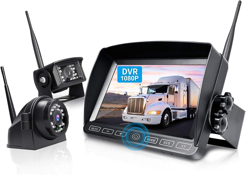 ZEROXCLUB W702 Digital Wireless Backup Camera