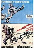 1941Poster–2. Weltkrieg Russisch Funny Anti Hitler