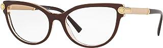 نظارات فيرزاتشي VE 3270 Q 5300 توب بني/شفاف