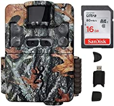 Browning Strike Force Pro XD 24MP Trail Camera with Memory Cards and Focus Camera Card Readers | BTC5PXD