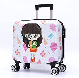 YCYHMYF Light and Easy to Carry Trolley case for Little Girls