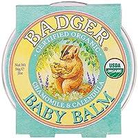 バジャー(BADGER) デリケートバームChamomile & Calendula, 2 oz (56 g)- 2Packs