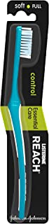 REACH Toothbrush, Control, Essential Care, Soft Full, Assorted Colours, 1 piece