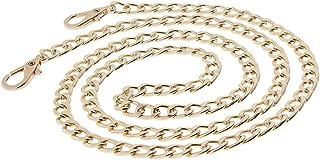 FITYLE Metal Purse Shoulder Crossbody Bag Chain Straps Handle Handbag Replacements
