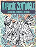 Mapache Zentangle - Libro de colorear para adultos