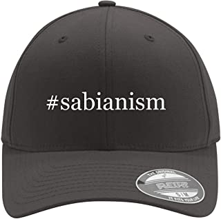 #sabianism - Adult Men's Hashtag Flexfit Baseball Hat Cap