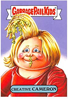 2019 Topps Garbage Pail Kids We Hate the '90s Films Sticker #17a CREATIVE CAMERON Sticker Trading Card