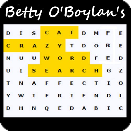 Betty O'Boylan's Cat Crazy Word Search