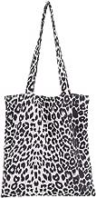 Valentoria Cyber Deals Monday Deals Sales 2018-New Arrival-Women's Leopard Tote Bag Shoulder Bag Handbag Lady Bags Makeup Bag (White)