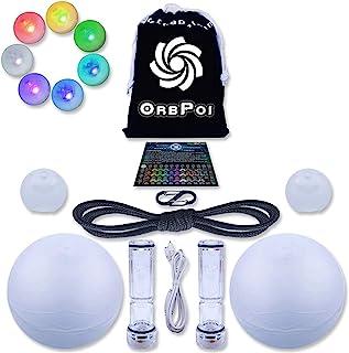 UltraPoi OrbPoi LED Poi Balls - The World's Favorite Glow Contact Poi