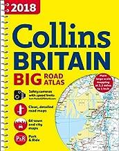 2018 Collins Britain Big Road Atlas
