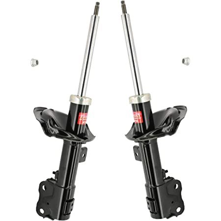 Pair Set of 2 Front KYB Excel-G Struts For Mitsubishi Outlander 2007-2011