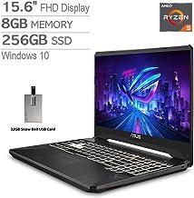 "2020 ASUS TUF 15.6"" FHD LCD Gaming Laptop Computer, AMD Ryzen 5-3550H, 8GB RAM, 256GB PCIe SSD,..."