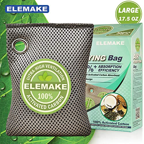 Buy Discount Coconut Charcoal Air Purifying Bag (17.5oz/500g Large), 3 Times Absorption Efficiency, ...