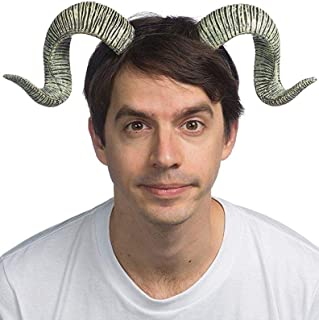 Unisex-Adult's Supersoft RAM Horns, Gray, one Size