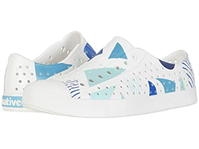 Native Shoes Jefferson Print (Shell White/Shell White/Geometriskie) Athletic Shoes