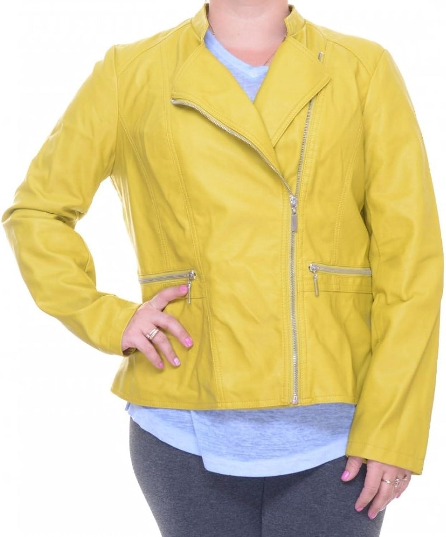 Alfani Women's FauxLeather Moto Jacket