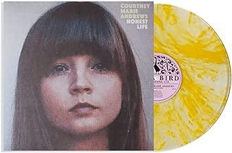 Courtney Marie Andrews 'Honest Life' Exclusive Clear w/ Yellow Marble Vinyl, Bonus 7