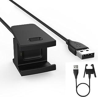 TECHGEAR Wymienny kabel USB do ładowarki Fitbit Charge 2, kabel zasilający do ładowania USB kompatybilny z Fitbit Charge ...