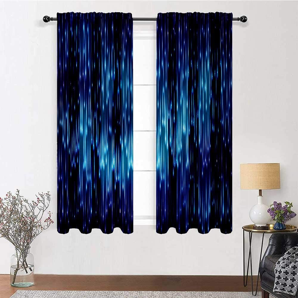 Interestlee Kids Challenge the lowest price Curtains 96 Same day shipping inch Abstract Rod Pocket Cu Length