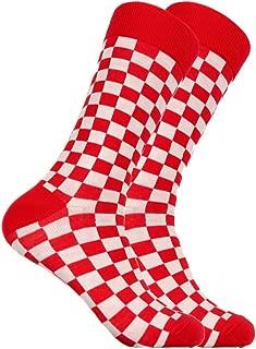 SOCKZ-73 - Mens Designer Checkered Socks