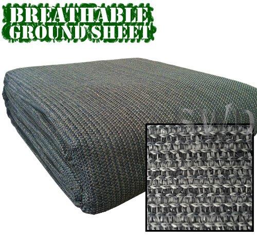 Streetwize LWBG2560 Supreme Awning Carpet [Blue/Grey] Breathable Groundsheet - Camper, Motorhome, RV, Tent Rug - Caravan Flooring   Outdoor Ground Covering