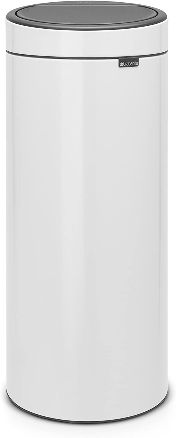 Brabantia Touch Trash low-pricing Can New 8 White gallon 115141 55% OFF