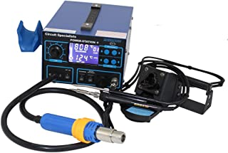 Deluxe Hot-Air Station - Soldering Iron, Liquid Crystal Display, Smoke Absorber & Component Pick-Up Wand