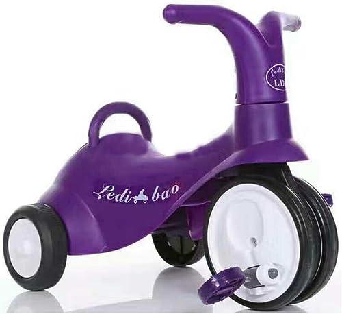 Kids Tricycles Mini Bike Einfache Indoor Outdoor 1-3 Jahre alt Metall lila Fahrrad