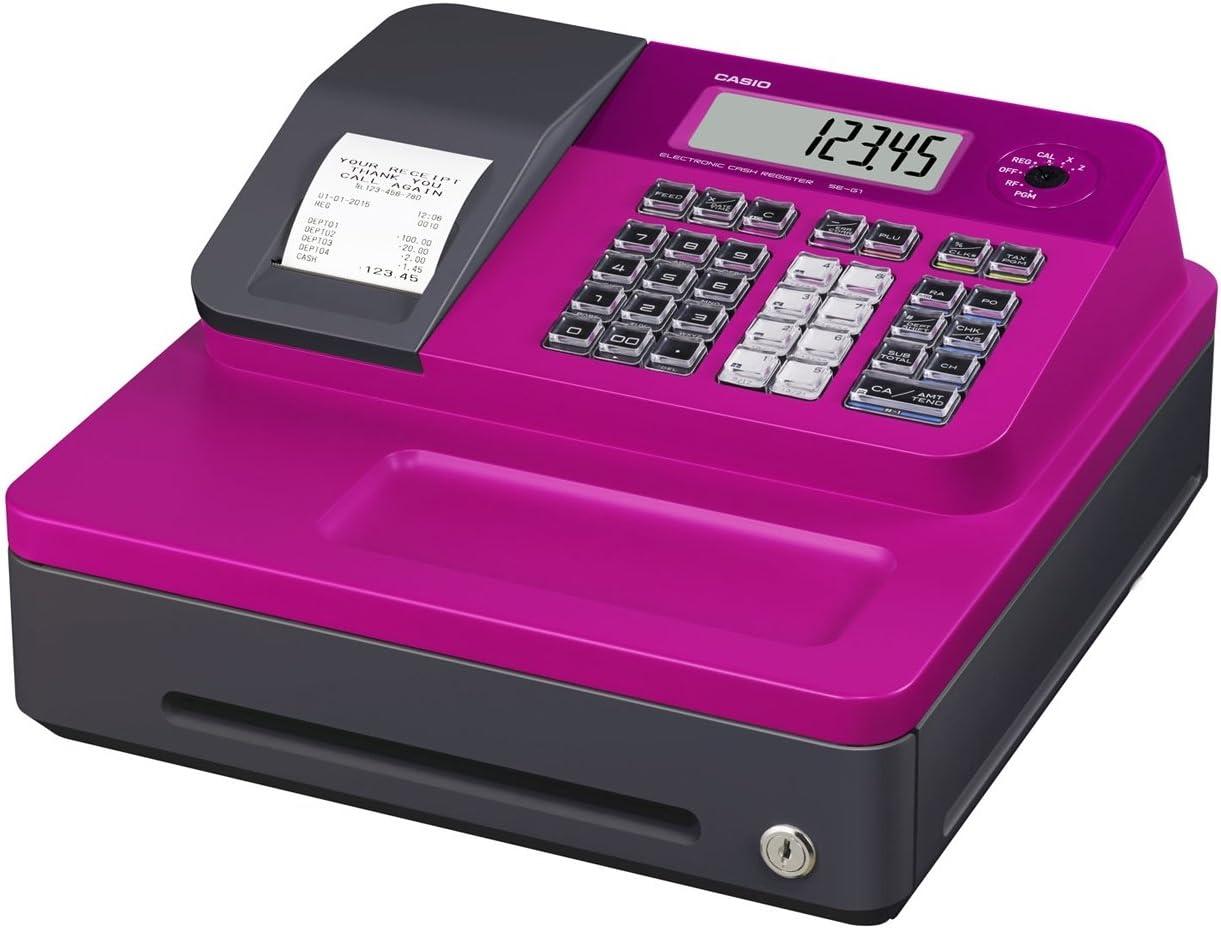 Amazon Com Casio Se G1sc Pk Electronic Cash Register Electronics