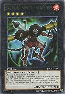 Yu-Gi-Oh! Battlin39; Boxer Lead Yoke (LTGY-EN050) - Lord of the Tachyon Galaxy - 1st Edition - Rare