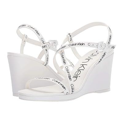 Calvin Klein Bellemine (White Logo Webbing) Women