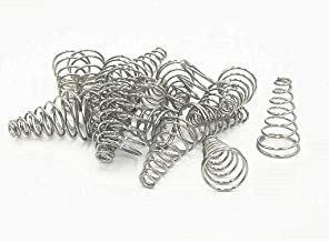 XJS Stainless Steel Taper Conical Compression Spring 15x6x26mm 20 pcs