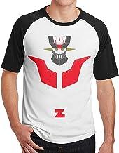 Mazinger Z Nuevo Estampado Estampado Hombres Manga Corta Camiseta raglán Hombres Camisetas algodón Camisetas Tops Hombre