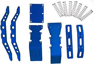E-Maxx, 3903, 3905 or 3908 Blue anodized aluminum package super deal with free dual rate shock springs